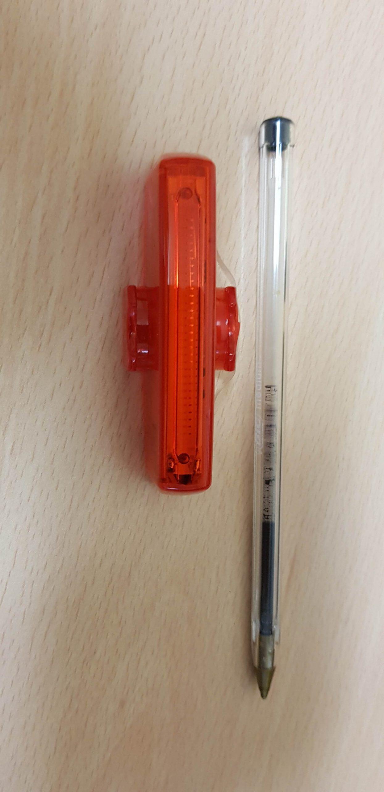 Luce posteriore led ApaceVision GuardG3X - dimensioni anteriore