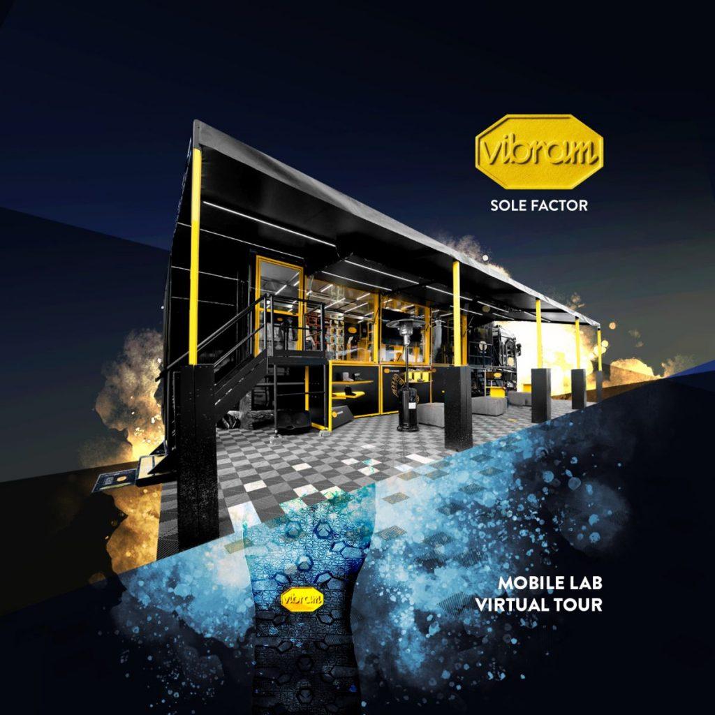 Vibram Sole Factor Mobile Lab: il tour del truck Vibram diventa virtuale