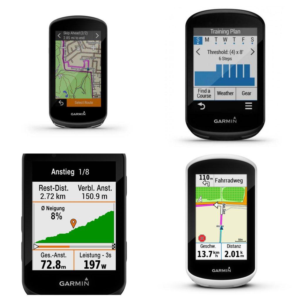 La gamma di ciclocomputer Garmin Edge GPS